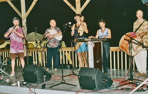 Lyuben Dossev, Vassil Bebelekov, Lauren Brody & Jerry Kisslinger, Camp Ramblewood, 1990s