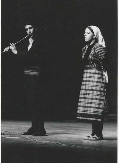 Dov Buk & Lauren Brody, Hunter College, NY, 1970s