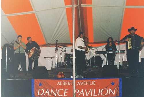 Yuri Yunakov Ensemble with Ivan Milev, Chicago Summerdance, 1999
