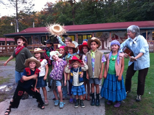 Cowgirls and cowboys rarin' to perform at the Iroquois Springs Balkan camp Auction